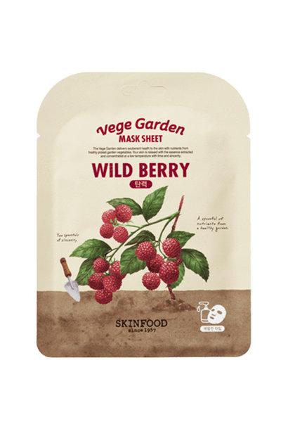 Vege Garden Wild Berry Mask Sheet