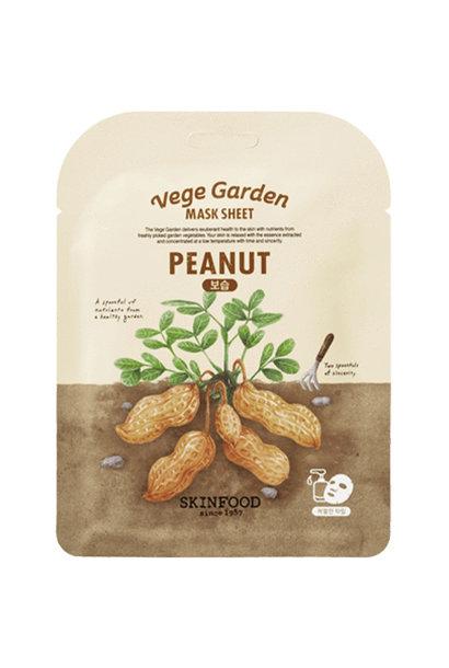 Vege Garden Peanut Mask Sheet