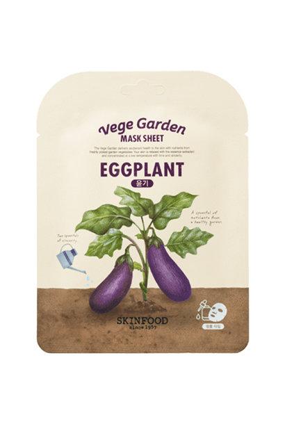 Vege Garden Eggplant Mask Sheet