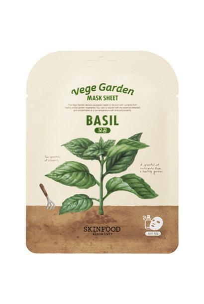 Vege Garden Basil Mask Sheet