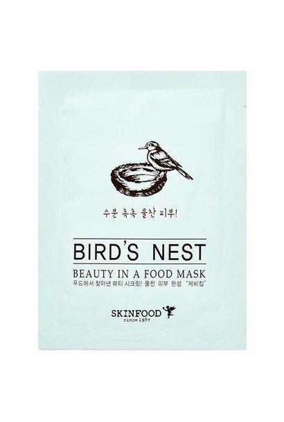 Beauty in a Food Mask BIRD'S NEST