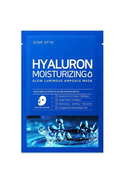 Hyaluron Moisturizing Glow Luminous Ampoule Mask