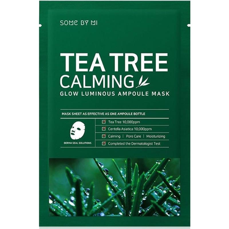 Tea Tree Calming Glow Luminous Ampoule Mask-1
