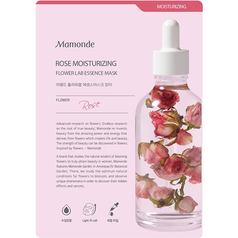 Rose Moisturizing Flower Lab Essence Mask-1