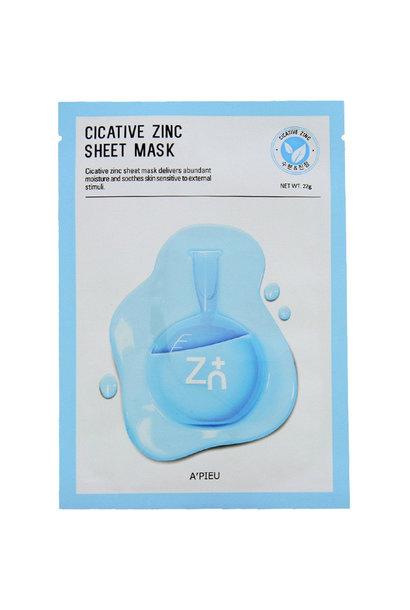 Cicative Zinc Sheet Mask