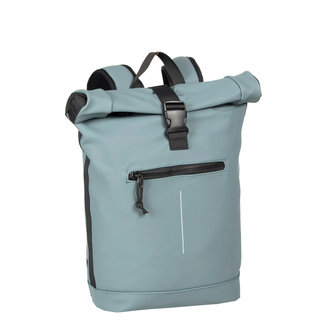 New Rebels Mart Roll-Top Backpack (L) - Lichtblauw