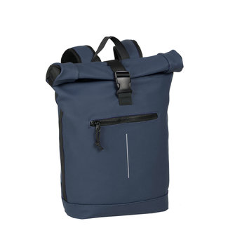 New Rebels Mart Roll-Top Backpack (L) - Donkerblauw