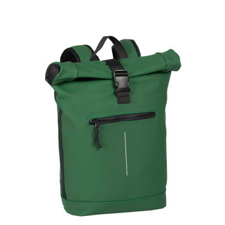 New Rebels Mart Roll-Top Backpack (L) - Donkergroen