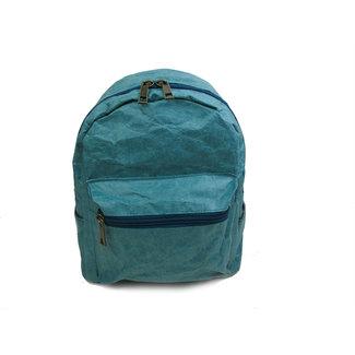 Auctor, tassen en accessoires van kraftpapier Papieren rugzak (15L)  met een strak design - Blauw