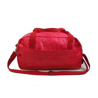 Auctor, tassen en accessoires van kraftpapier Papieren Reistas/Sporttas - Naturel - Rood