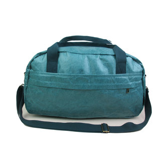 Auctor, tassen en accessoires van kraftpapier Papieren Reistas/Sporttas - Naturel - Blauw