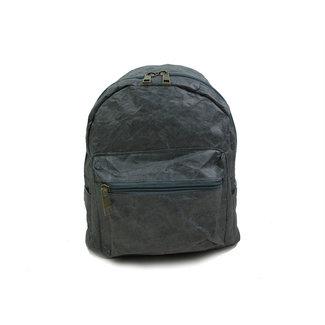 Auctor, tassen en accessoires van kraftpapier Papieren rugzak (15L)  met een strak design - Grijs