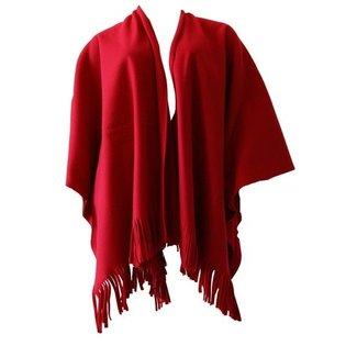 Poncho rood