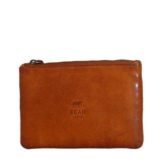 Bear Design Leren etui  Cognac -  CL 13130, Cow Lavato Collectie