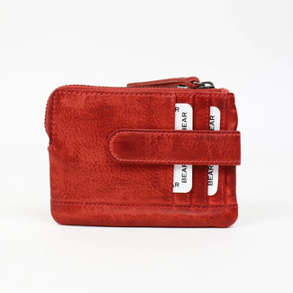 Bear Design 'Carrie' rood - CP4110, Callisto-Pelle Collectie