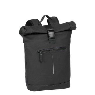 New Rebels Mart Roll-Top Backpack (L) - Black