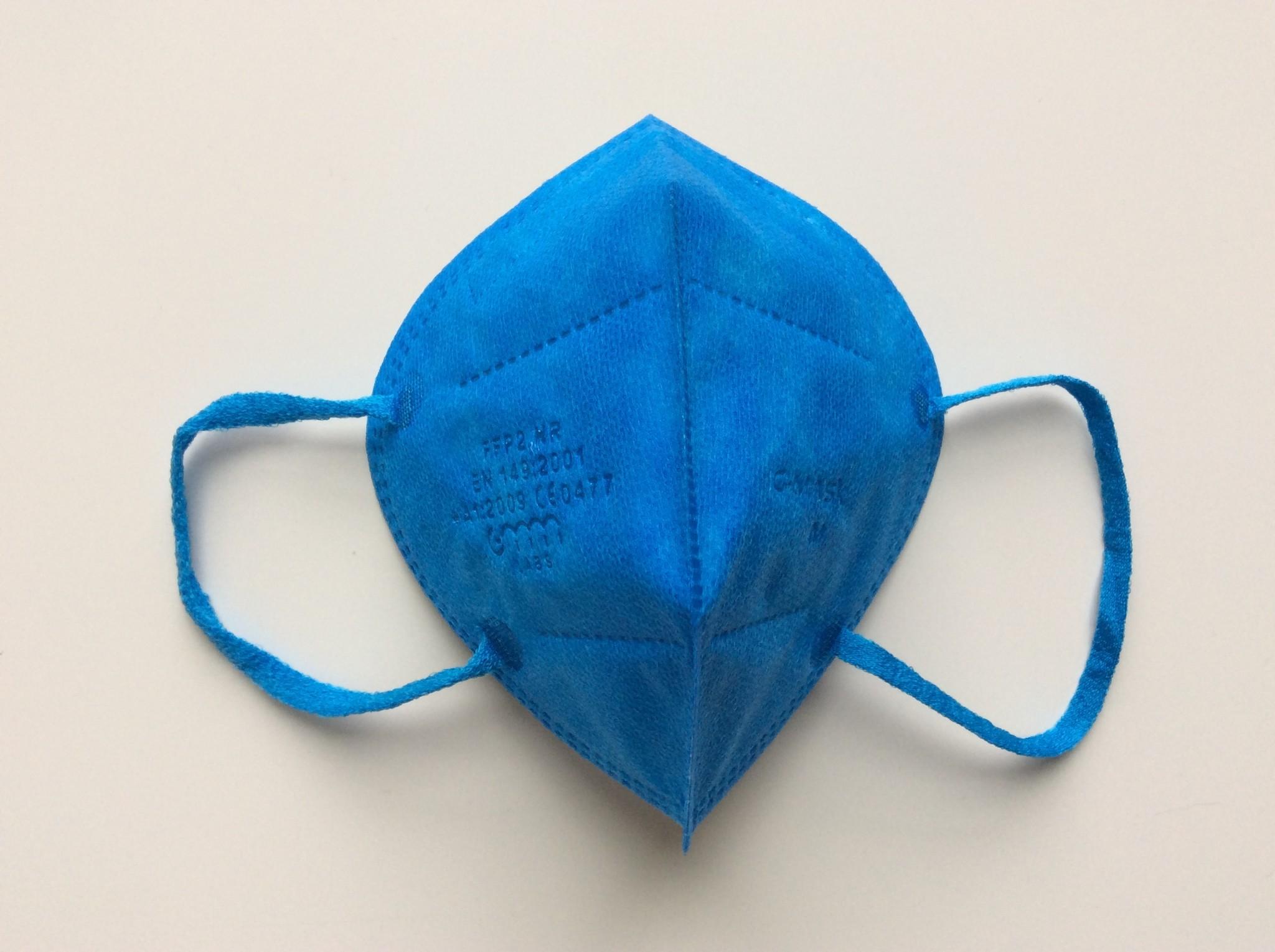"""IG-mask Masque IG """"FFP2"""" - Couleur Bleu - 20 pièces (2,49 par pièce)"""