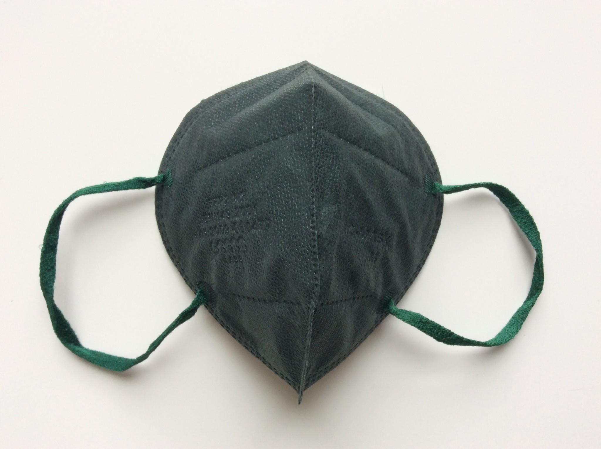 "IG-mask ""FFP2"" IG-Mask - Kleur groen - 5 stuks (2,99 per stuk)"