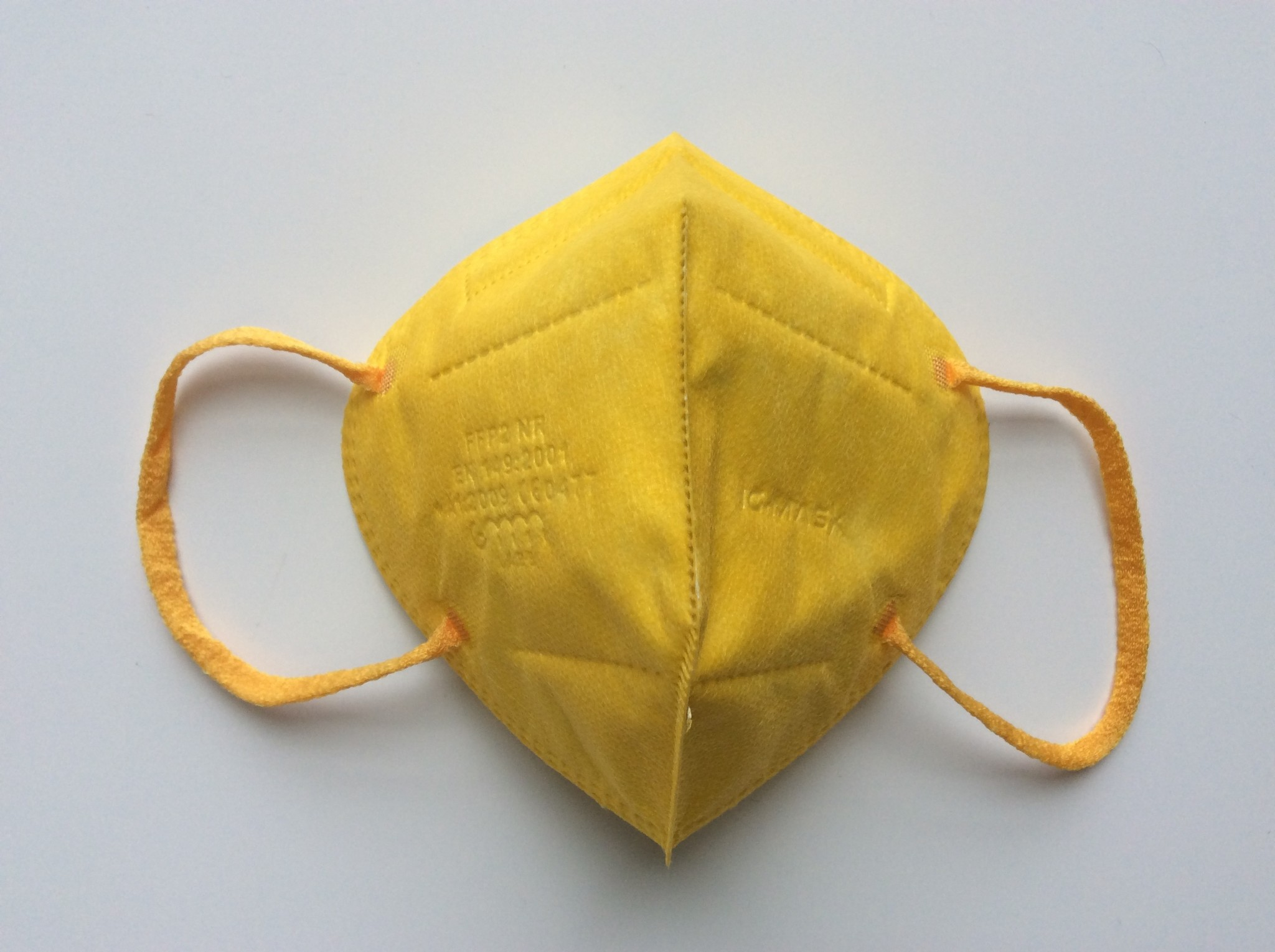 """IG-mask """"FFP2"""" IG-Mask - Color Yellow- 5 pieces (2.99 each)"""