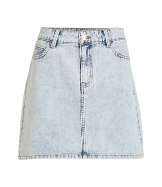 Vila VIVALLERY RW SHORT DENIM SKIRT