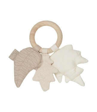Cam Cam Rattle Leaves Maple Wood Ring Mix Natural