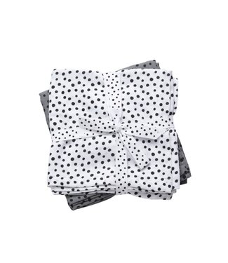 Done By Deer Swaddles Set 2st Dots Grey