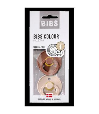 Bibs Bibs T1 Woodchuck / Blush 0-6m