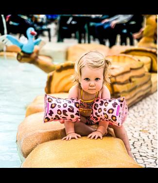 Mila & me Zwembandjes Rose Panter 0-2 jaar