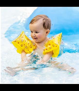 Mila & me Zwembandjes Circus Yellow 0-2 jaar