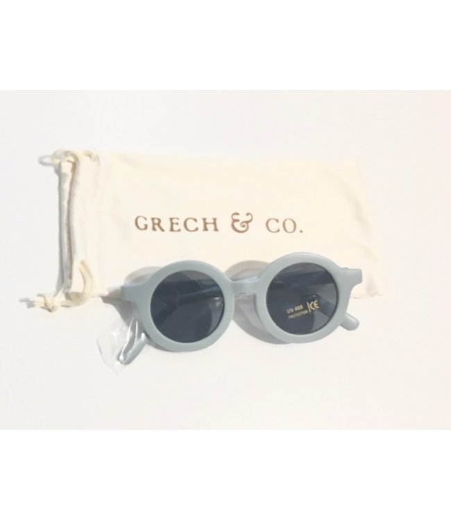 GRECH & CO SUSTAINABLE KIDS SUNGLASSES LIGHT BLUE