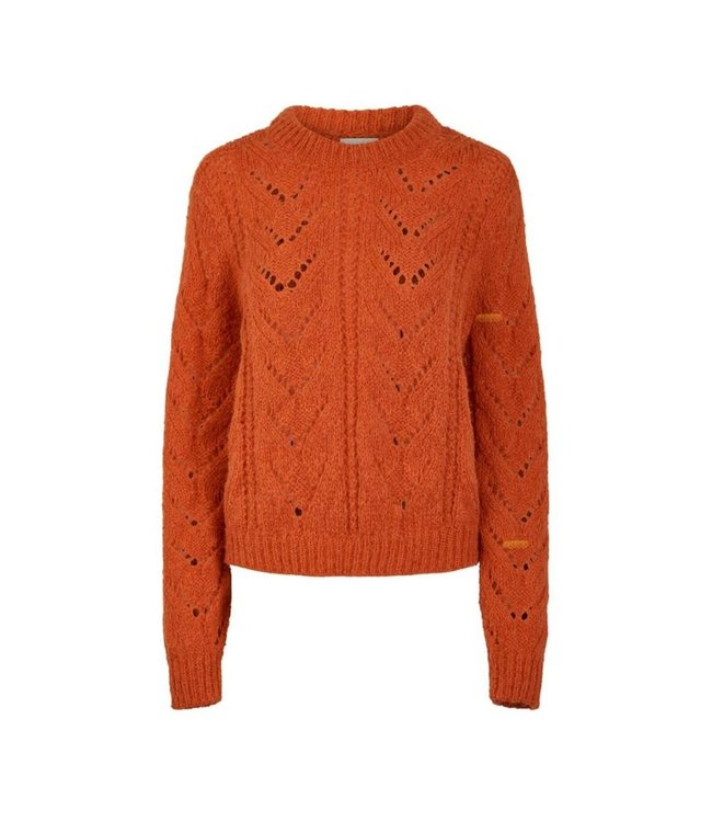 Pieces PCSENNA O NECK KNIT