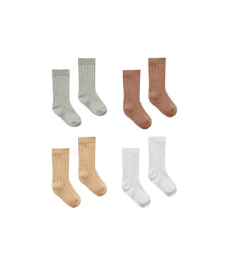 QUINCY MAE Baby Socks - 4 Pack mix1