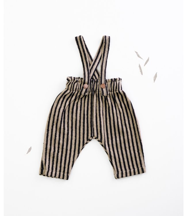 Play Up STRIPED DOUBLE FACE TROUSERS JER
