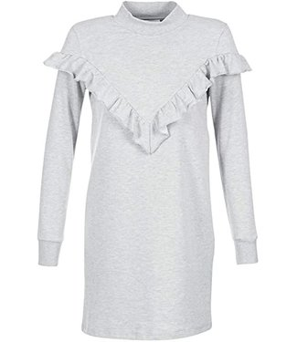 Vila Vimista L/S Sweat Dress XS Light Grey