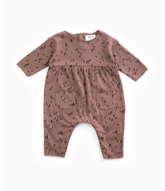 Play Up JERSEY STICH JUMPSUIT PUR