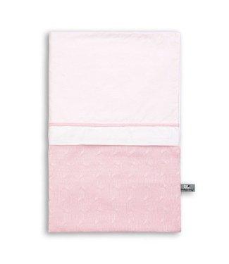 Dekbedovertrek 100x135cm  Classic roze Kabel