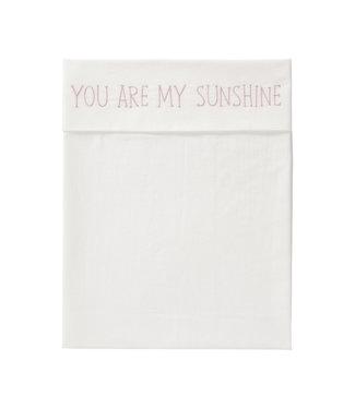 Fresk Wieglaken Sunshine Mellow Rose 75x90