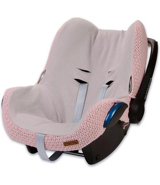 Baby's Only Hoes Autostoel 0+ Stoer Oud Roze