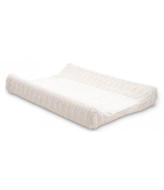 Jollein Waskussenhoes 50x70cm River knit cream white