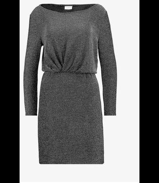 Vilouiana L/S Dress Black Silver