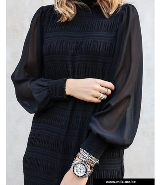 Vila Vimarbella L/S Dress Black