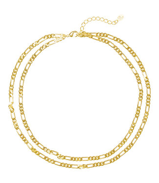 Mila & me LAYERED FINE CHAIN NECKLACE