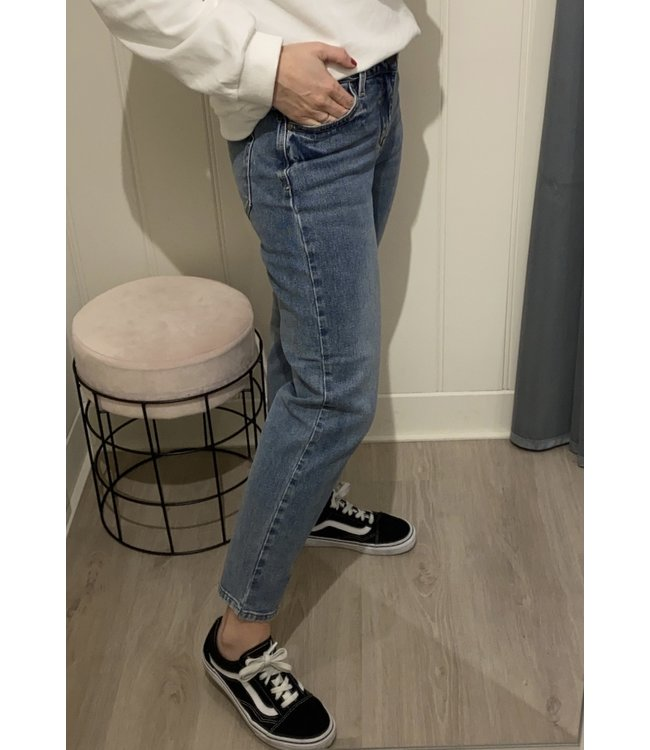 Vila VICROW NEW CROPPED STRAIGHT JEANS