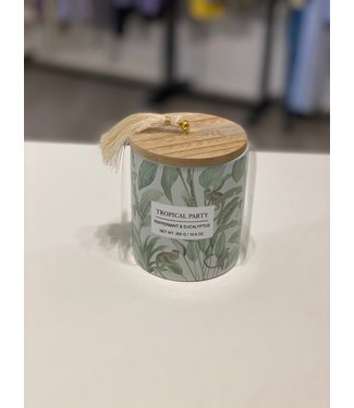 SCENTED CANDLE TROPICAL PEPPERMINT