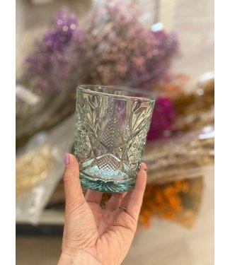 JULIA GLASS EBONY GREEN