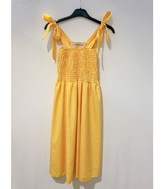 CARREAUX SMOCK DRESS YELLOW
