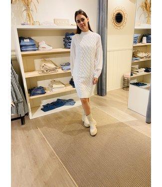 VIZURI CABLE KNIT DRESS