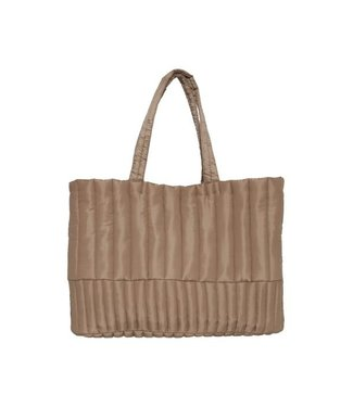 ICHI IALITH QUILTED SHOPPER