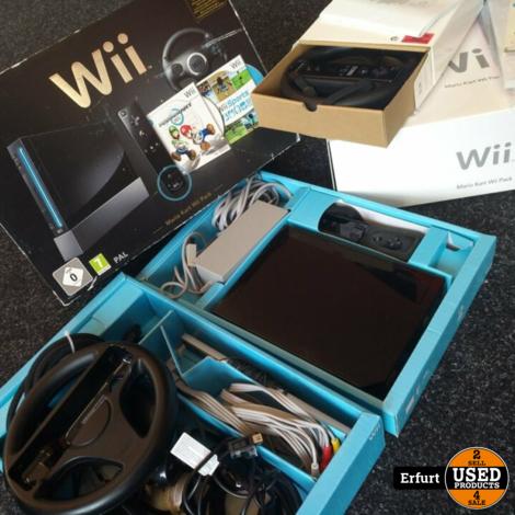Nintendo Wii Mario Kart Pack I Guter Zustand