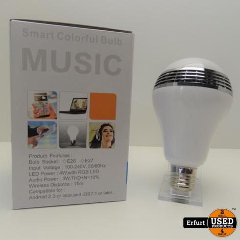 Music Bluetooth Lampe I Neu in Verpackung